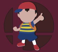 Smash Bros: Ness by megaoctipoosh
