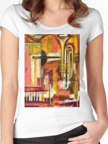 """Jazz is Art, Art is Jazz"" Women's Fitted Scoop T-Shirt"