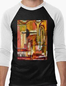 """Jazz is Art, Art is Jazz"" Men's Baseball ¾ T-Shirt"