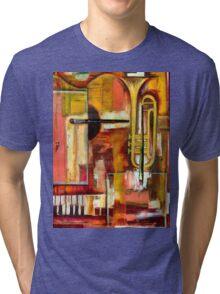 """Jazz is Art, Art is Jazz"" Tri-blend T-Shirt"
