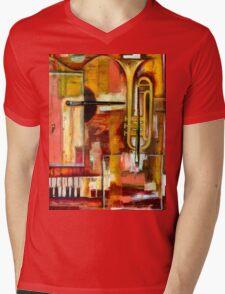 """""""Jazz is Art, Art is Jazz"""" Mens V-Neck T-Shirt"""