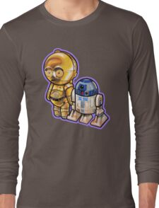 """""""DROID LOVE"""" POOTERBELLIES Long Sleeve T-Shirt"""