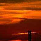 Sunset in Portugal by Diane