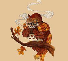 Cozy Owl by Julia Blattman