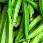 Okra Green by Diane