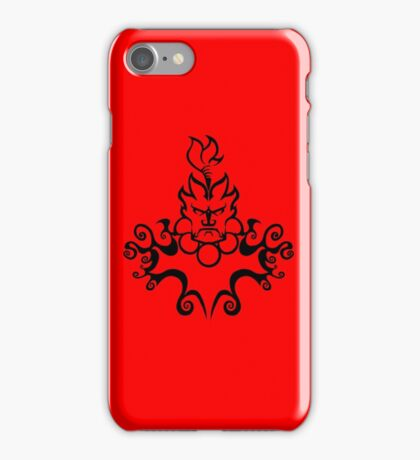 The Floating Demon iPhone Case/Skin