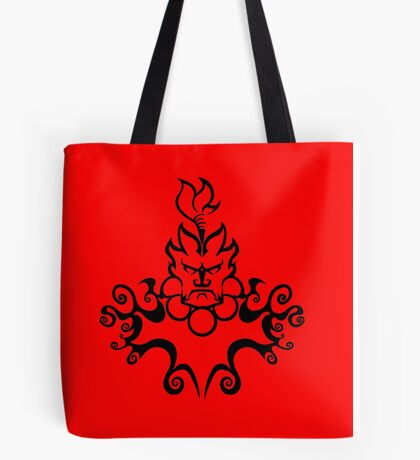 The Floating Demon Tote Bag