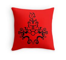 The Floating Demon Throw Pillow