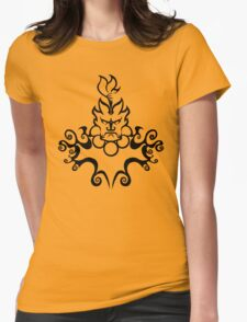 The Floating Demon Womens Fitted T-Shirt