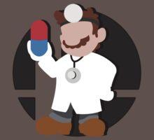 Smash Bros: Dr. Mario by megaoctipoosh