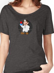 Smash Bros: Dr. Mario Women's Relaxed Fit T-Shirt
