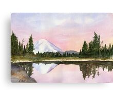Cascade Mountains - Mt. Rainier, WA Canvas Print
