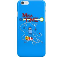 MEGA TIME! iPhone Case/Skin