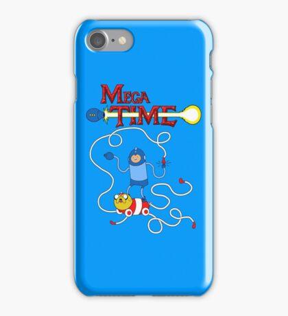 MEGA TIME! iPhone Case/Skin