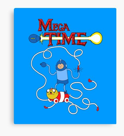MEGA TIME! Canvas Print