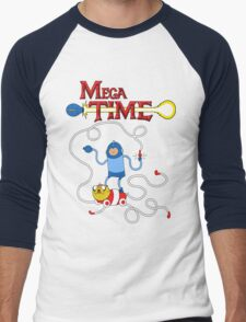 MEGA TIME! Men's Baseball ¾ T-Shirt