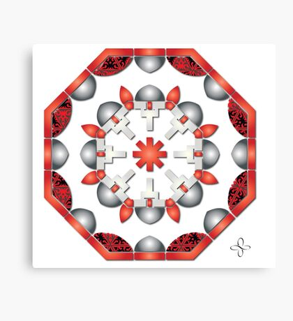 Sacred Geometry - Fire and Fertility Canvas Print
