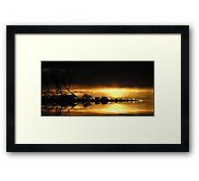 SUNREALISM Framed Print