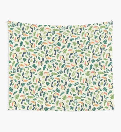 Toucans Wall Tapestry
