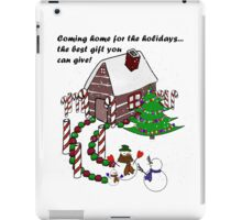 Snowman - Homecoming for the Holidays iPad Case/Skin