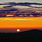 Smokey Scarlet Sunset by John Butler