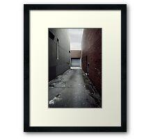 inwards goods Framed Print