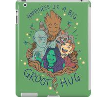 happiness is a big groot hug iPad Case/Skin