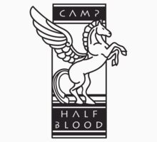 Camp Half-Blood Shirt (Black Design) Kids Clothes