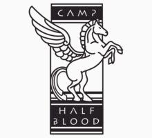Camp Half-Blood Shirt (Black Design) Baby Tee