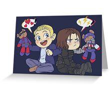 stuffed full of love! Greeting Card