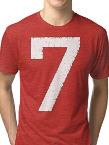 The Digital Crumbles of Seven Tri-blend T-Shirt