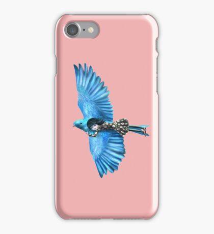 The Blue Bird iPhone Case/Skin