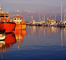 Pilot Boats - Queenscliff - Victoria by James Pierce