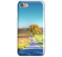Tree At The Bottom Of The Hill iPhone Case/Skin