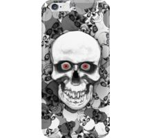 Skulls With Eyes iPhone Case/Skin