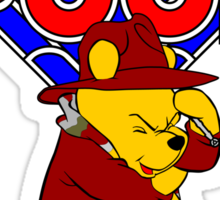 Doctor Pooh Sticker