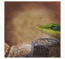 Green Lizard One Piece - Long Sleeve
