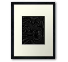 The Waves Framed Print