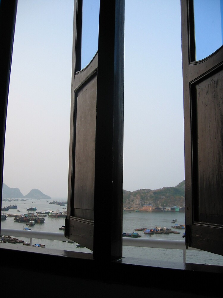 Beautiful Halong Bay out my window by mantahay