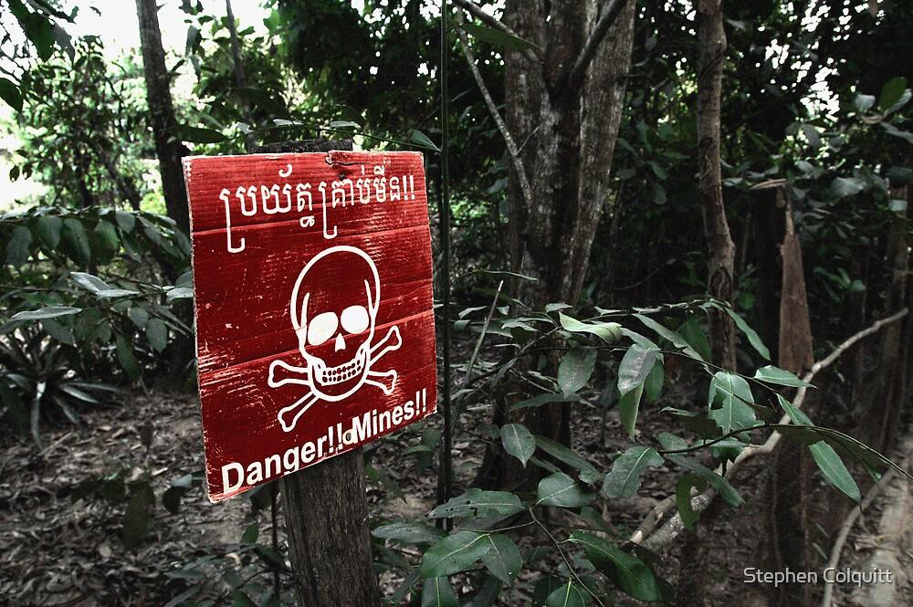 Cambodian danger by Stephen Colquitt