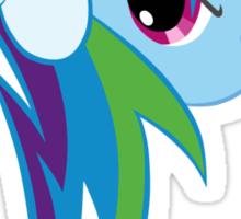 Cutie Mark Rainbow Dash Sticker