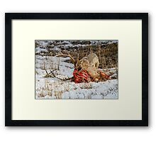 TABLE MANNERS Framed Print