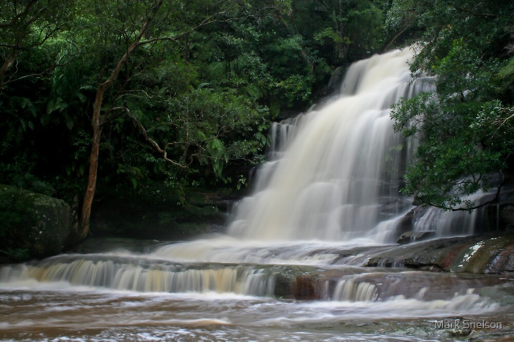 Somersby Falls 6 by Mark Snelson