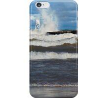 Big Waves at Grand Marais iPhone Case/Skin