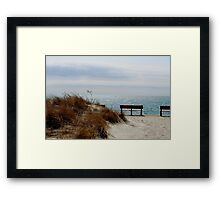 Beach... Framed Print