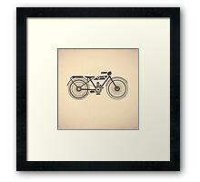 motorcycles Framed Print
