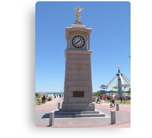 Cenotaph built to commerate W.W.1. at Semaphore, S.Aust. Canvas Print