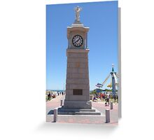 Cenotaph built to commerate W.W.1. at Semaphore, S.Aust. Greeting Card