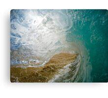 North Shore Mini Breaker Canvas Print