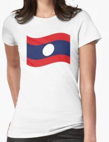 Laos Flag Wave T-Shirt